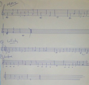 3 Basic Melodies