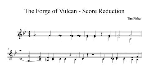 Forge of Vulcan Score Reduction